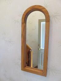 Solid Oak Mirror Whitby, L1R 0B8