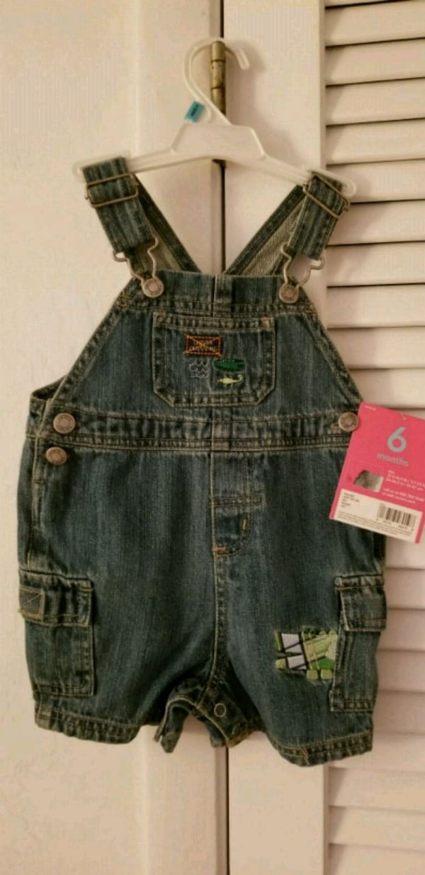 Tags on! Baby 6 months Carters Jean overalls Tags on ce42d2c3-1704-48cc-a5b0-10463b1f8330