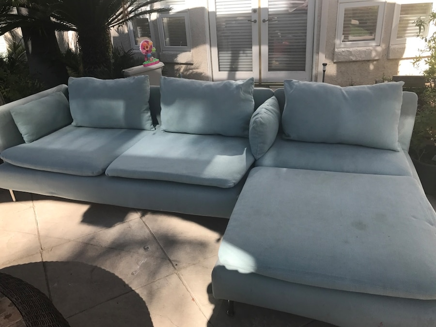 used sectional sofa with washable covers and pillows great condition rh us letgo com