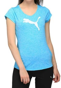 Light blue Puma sports top Aurora, L4G