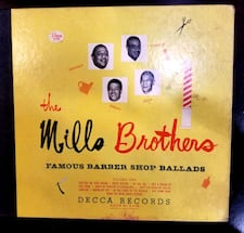 THE MILLS BROTHERS FAMOUS BARBER SHOP BALLADS SET