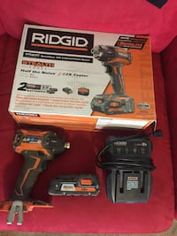 Ridgid Stealth Force Brushless 18v 3-speed Pulse Driver. Model R86036K. Includes cordless 2amp Battery AND charger with original box included. Bag not included but if you really need a bag I have extras. Fountain Hills, 85268