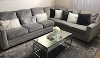Grey Ashley furniture sectional with grey rug 7'9.$800 obo Nashville, 37211