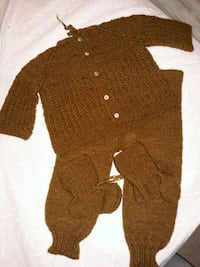 women's brown knitted sweater Annandale, 22003