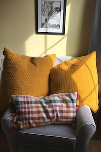 3 fall pillows cases