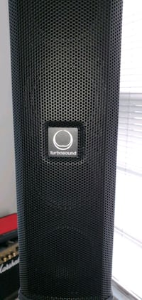 turbosound ip3000 pa system. iOS controllable. blu