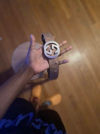 Gucci belts 100% real just messed up still wearable Hampton, 23669