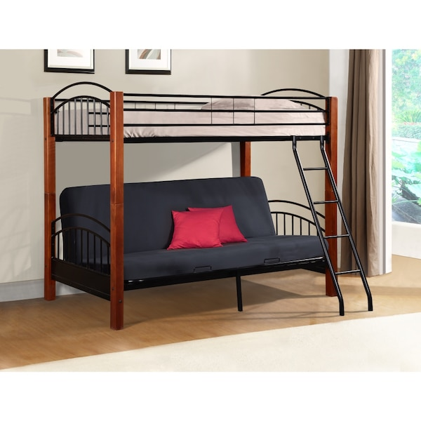 watch f8ebe 4b2f3 Twin bunk over Full Futon WITH MATRESSES