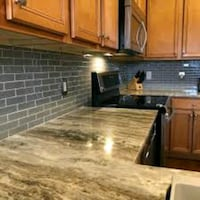 if you need someone to stall you back splash on your kitchen give us a text Baltimore