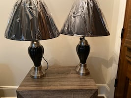 Two New Black Lamps