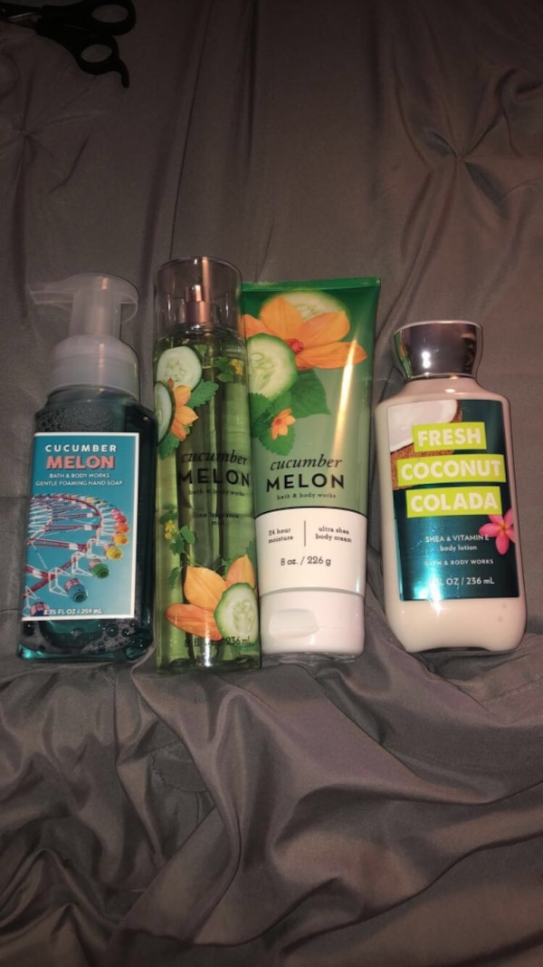 Bath and body works never used