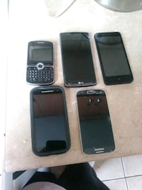 Selling all my phones and they all work  508 km