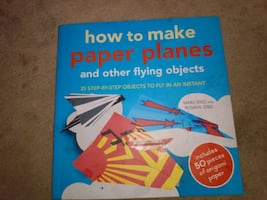 Kids how to make paper kites planes Nd girls friendship book