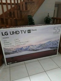 Brand new in box LG UHD TV AI ThinQ 535 km