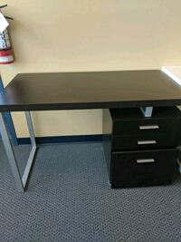 Cappucinno 3 drawer desk new Vaughan, L4K 4Z7