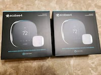 Ecobee 4 with Temperature Sensor (2-thermostats)