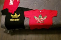 red and black t shirts Coquitlam, V3J 1T6