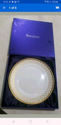 "PROUNA PERSONA DINNER PLATE - 8 1/2""  7405 NEW IN"