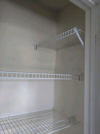 Wire closet shelves Sterling