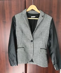 Leather sleeve blazer - never worn! Ottawa, K1J 8J7