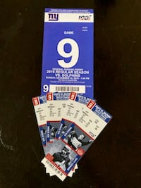 Giants / Dolphins  $450 for 4 tickets lower tier with parking pass