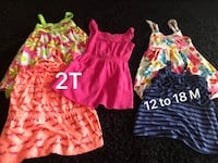 girl's three assorted dresses 40 km