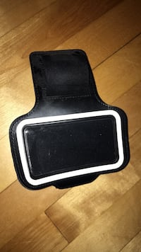 Exercise arm band for phone