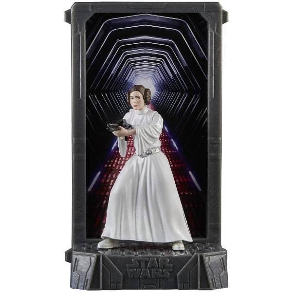STAR WARS BLACK SERIES TITANIUM SERIES 40TH ANNIVERSARY PRINCESS LEIA ACTION FIGURE (NEW!)
