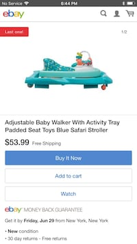 Green and white plastic toy children walker babies growing into infant toddler purple theme Costco Sanford, 32773