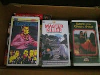 Box of VHS tapes Laurel
