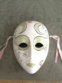 ceramic mask from Venice  Vaughan, L6A 1N1