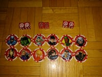 Twelve Avengers Token and Three sets of 6 Sided Dice Toronto, M6L 1A4