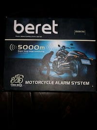 Beret two way motorcycle alarms system Hamilton, L8G 1L3