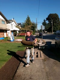 Looking for work landscaping, moving companies or Coquitlam