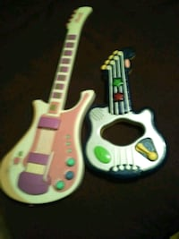white and pink electric guitar Youngstown, 32466