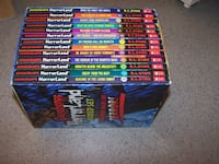 Goosebumps- HORRORLAND BOXED SET - 13 books  Vaughan