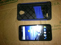 black Samsung android smartphone with case Millington, 38053