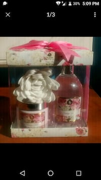 Bath gift set VINTAGE ROSE