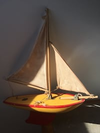 """Toy Sailboat 14"""""""