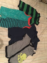 Summer clothes for baby boy 3m and 3-6m Mississauga, L5J 1E1