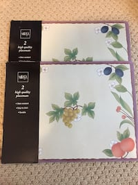 NEW. 4 Mikasa placemats  Vancouver, V5T 1N7