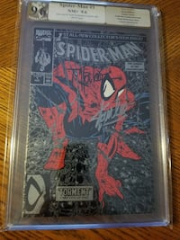 3 Graded & Signed Comics.  Stan Lee/Todd Mcfarlane