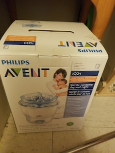 Philips Avent electronic sterilizer box