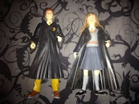 Wesly and Hermione action figures Albuquerque