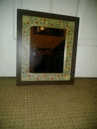 Small mirror with pretty wooden frame South Brunswick Township, 08824