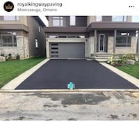 Professional Asphalt & Concrete driveway and any size lots done. Complete services of removal of old debris. Correcting weak spots, regrading and adding crushed stone as required. Compacting and applying new Asphalt or Concrete  Free estimates Call, text  Vaughan