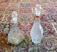 Crystal Decanters $20.00 Each  Graham, 27253