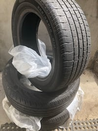 Four black auto tire set Brampton, L6P 2A1