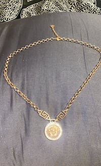 Versace 18kt gold plated with vvs1 created diamonds 450 obo  Burnaby, V5G 1C8