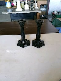 two black candlesticks Conroe, 77306